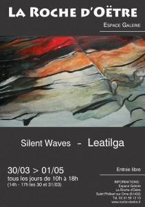 Peintures de Leatilga et livre cd jazz Das Kaff - Leatilga